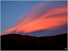 Sunset Paints Stinson by Wayne King