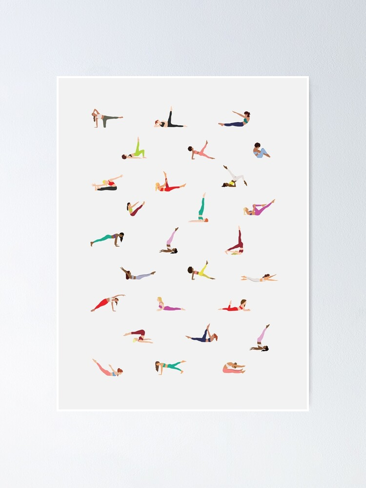 Alternate view of Pilates Classical Exercises Poster