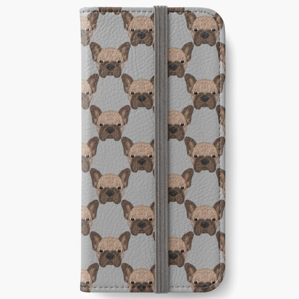 Brown Frenchie 001 iPhone Wallet