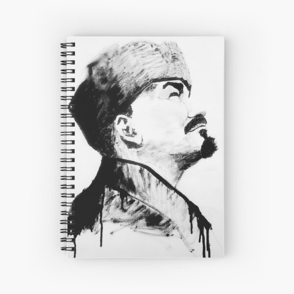 Lenin Looks to the Future Spiral Notebook