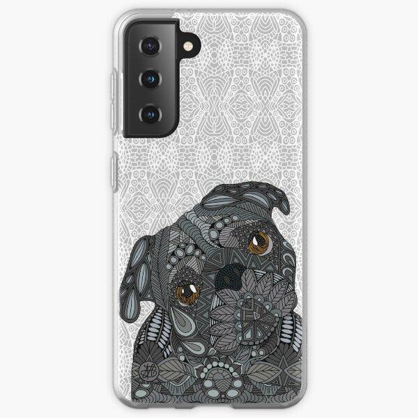 Black Pug Samsung Galaxy Soft Case