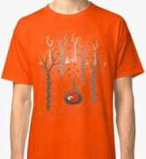 Sleeping Fox Classic T-Shirt