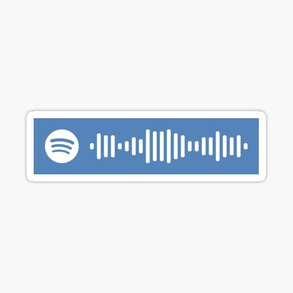 Código de Spotify de Myke Towers Pegatina