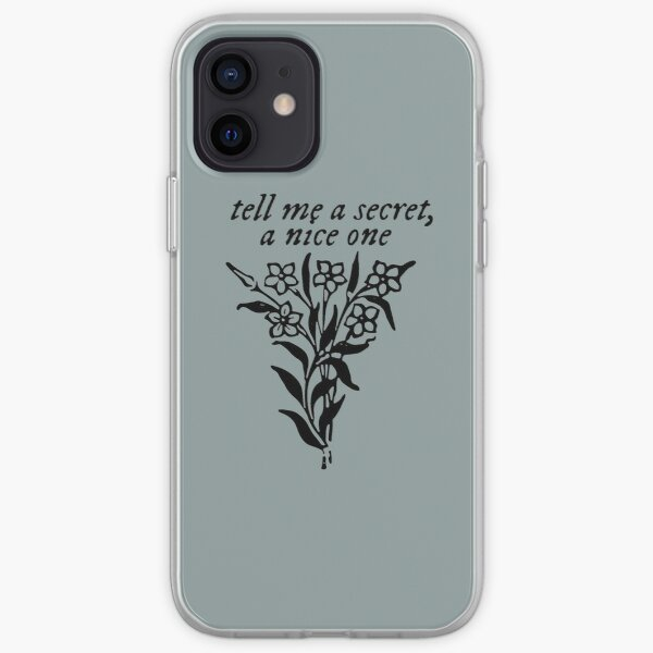 tell me a secret, a nice one iPhone Soft Case