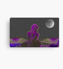 The Sound of Silence-  Art + Products Design  Canvas Print