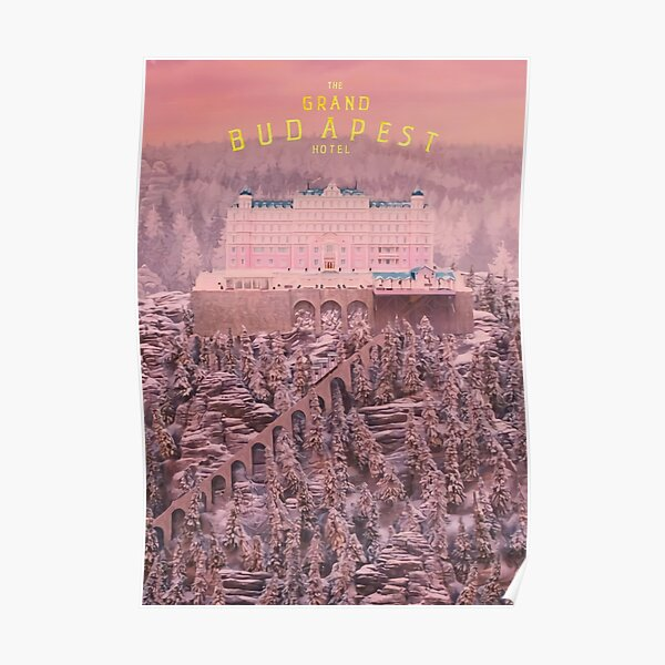 L'affiche du Grand Budapest Hotel Poster