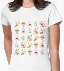 Inner Senshi Banners Women's Fitted T-Shirt