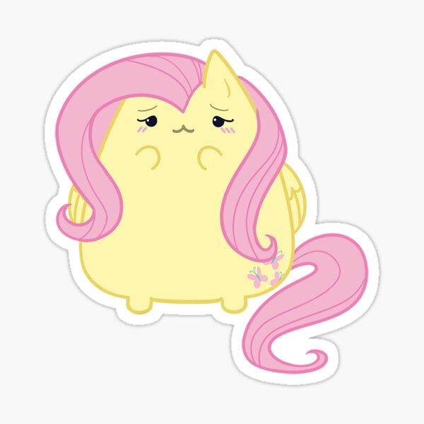 Fluttershy kitty Sticker