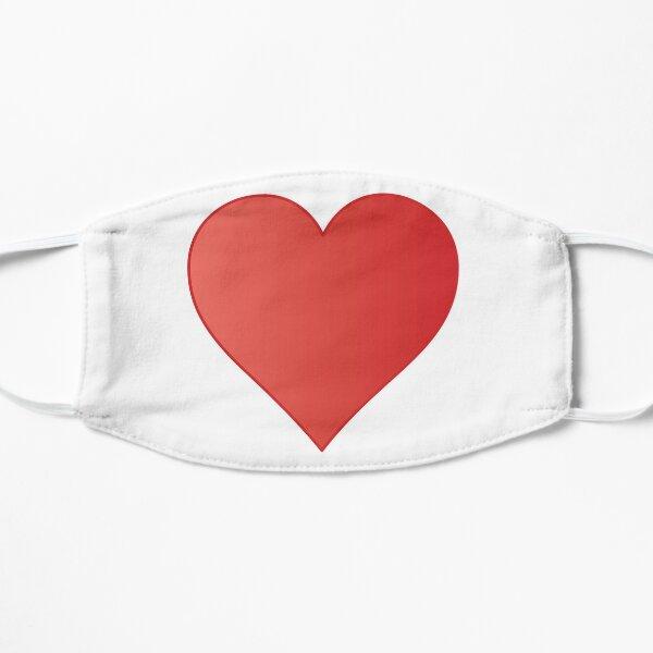 Symbol: Herz, heart #symbol #herz #heart Flat Mask