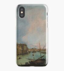 Canaletto Bernardo Bellotto - The Grand Canal in Venice with the Rialto Bridge 1724 iPhone Case/Skin