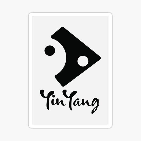 Positive Vibes - Yin Yang Sticker