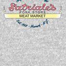 Satriale's - Fleischmarkt New Jersey von Candywrap Design