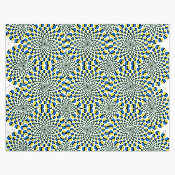 #Optical #Illusion Pattern Abstract Decoration Art Illustration Design Flower  Jigsaw Puzzle
