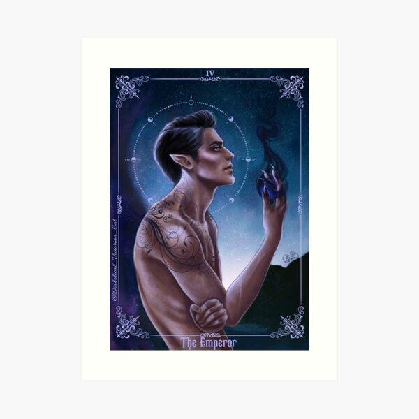 Rhysand - the Emperor  Art Print