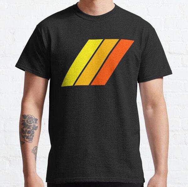Classic Toyota Stripes Yellow/Orange/Red Classic T-Shirt