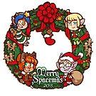 Merry Spacemas - 2015 by DarkChibiShadow