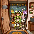 Space School - Happy Halloween 2015! by DarkChibiShadow
