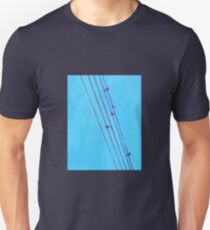 Birds, Wires 5 Unisex T-Shirt