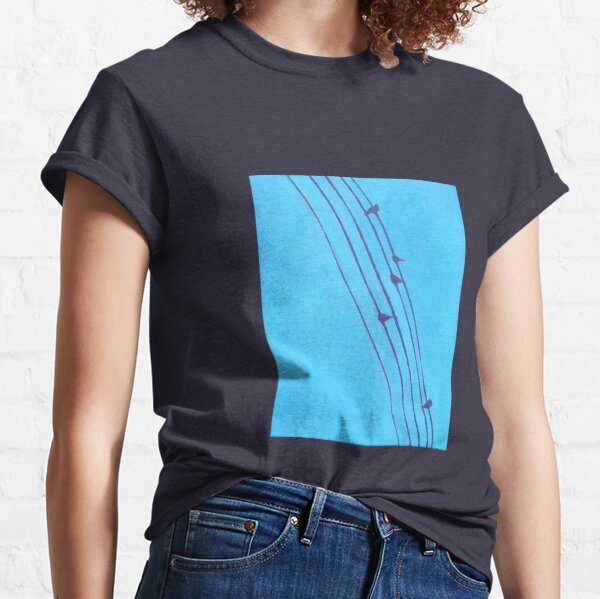 Birds, Wires 5 Classic T-Shirt