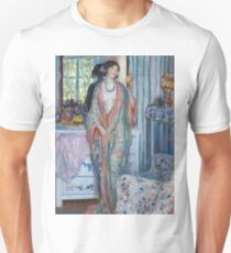 Vintage famous art - Frederick Carl Frieseke - The Robe T-Shirt