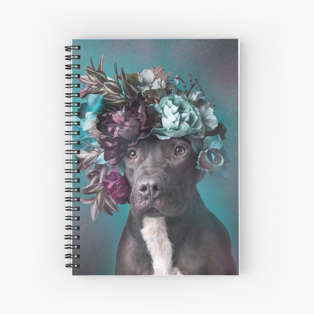 Flower Power, Aden Spiral Notebook
