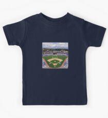 Los Angeles Home of Baseball Fever Kids Tee