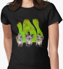 Hyenas Womens Fitted T-Shirt