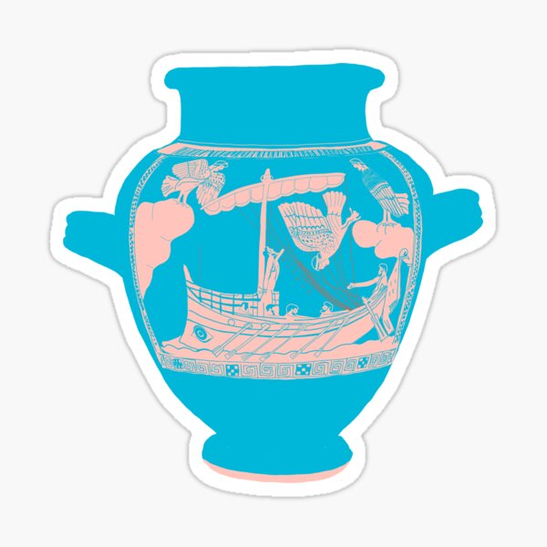 Odysseus and the Sirens Sticker