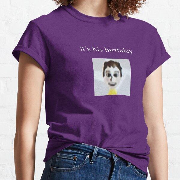 Its His Birthday Mii Sinjin Drowning Weston Koury Classic T-Shirt