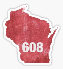 The 608 Sticker