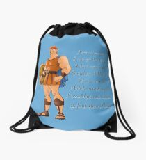 Hercules  Drawstring Bag