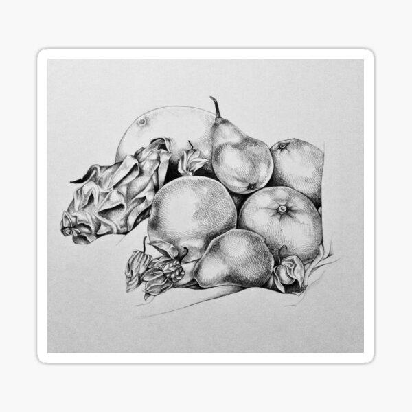 Fruit Still life 2016 Sticker