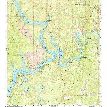 USGS TOPO Map Alabama AL Gilmore 303974 1971 24000 by wetdryvac