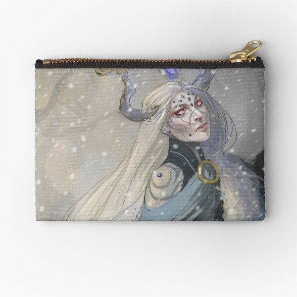 Snow Queen Zipper Pouch