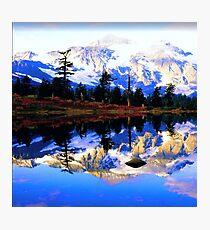 Glacier Mountain Photographic Print