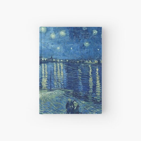 Vincent van Gogh - Starry Night over the Rhone Hardcover Journal
