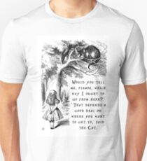 Which way should I go? Unisex T-Shirt