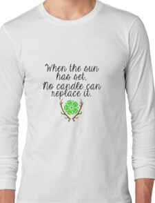 When the Sun sets Long Sleeve T-Shirt