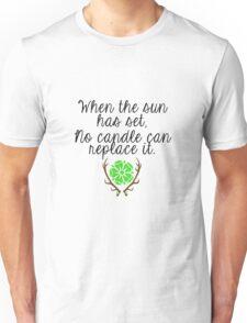 When the Sun sets Unisex T-Shirt