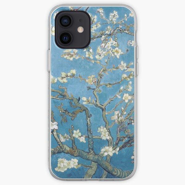 Vincent van Gogh - Branches à la fleur d'amandier Coque souple iPhone