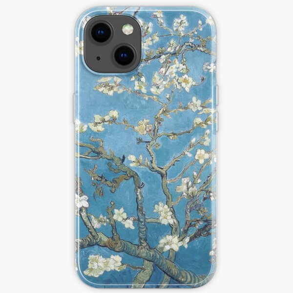 Vincent van Gogh - Branches with Almond Blossom iPhone Soft Case