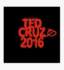 Ted Cruz 2016 Photographic Print