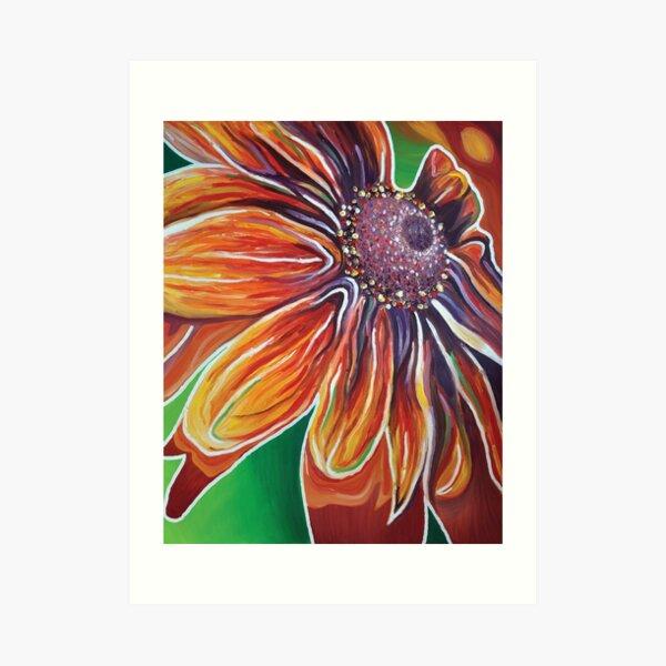 Été : explosion de couleurs Impression artistique