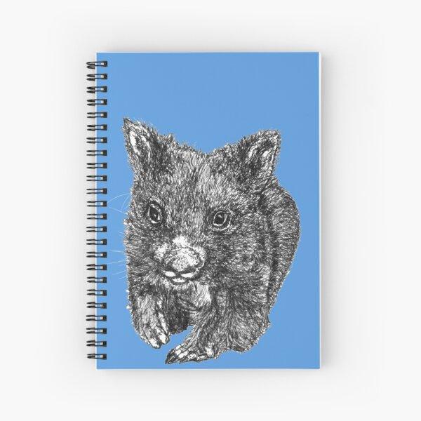 Bill the Baby Wombat Spiral Notebook