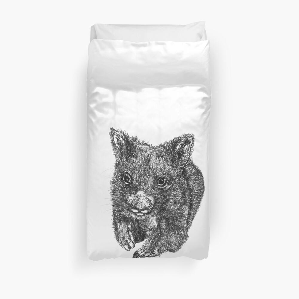 Bill the Baby Wombat Duvet Cover