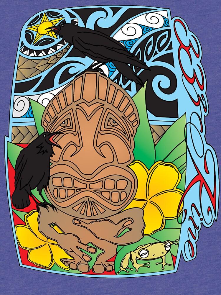 Tiki Man by 33zKine