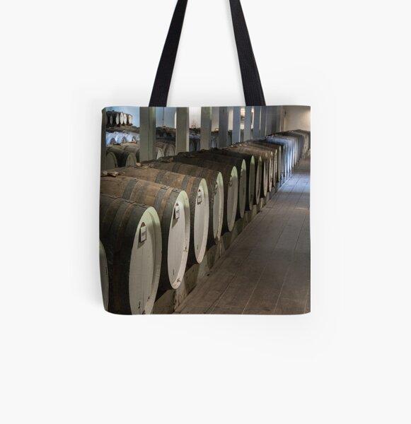 Barrel Hall All Over Print Tote Bag