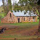 Stone Barn, Triabunna, Tasmania by Chris Cobern