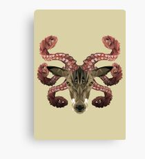 Lovecraft's Stag Canvas Print