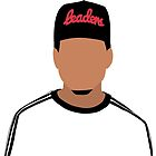 Chance The Rapper Minimalistic Cartoon by Hitoven